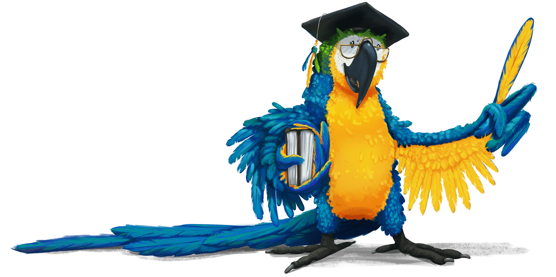 professor parrot image