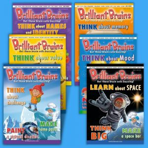 6 Pack 19-24 Brilliant Brainz Children's Magazine Gift