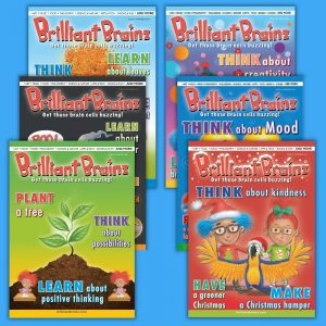 Brilliant Brainz Kid's Magazine Subscription 6 Pack 13-18 Brilliant Brainz Children's Magazine Gift