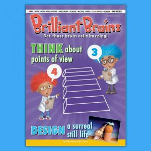 Brilliant Brainz Kid's Magazine Subscription Issue 29