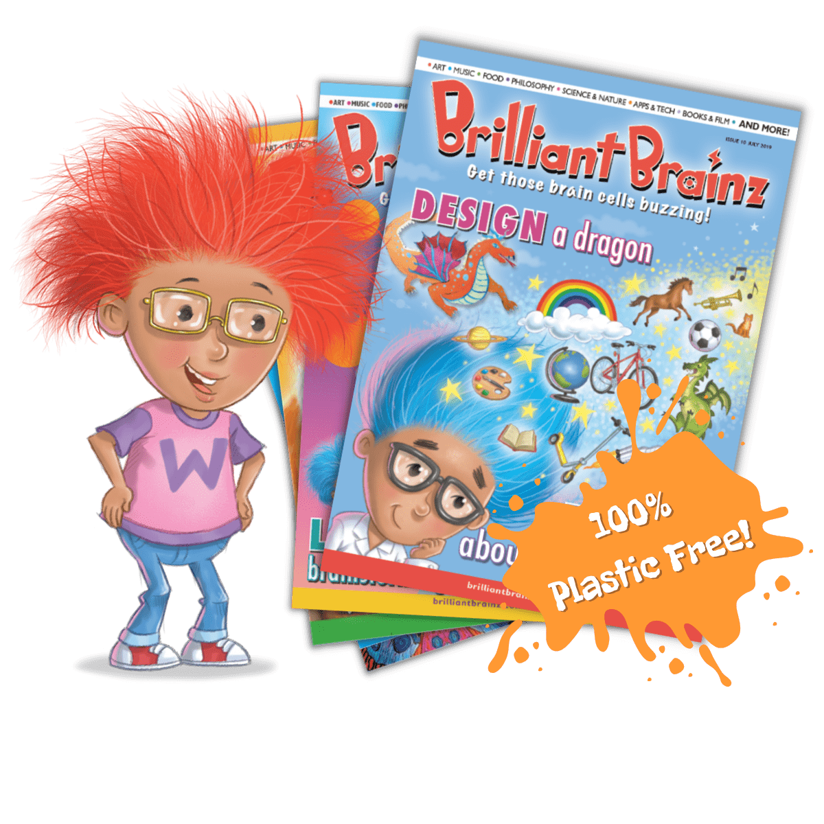 Brilliant Brainz Kid's Magazine UK