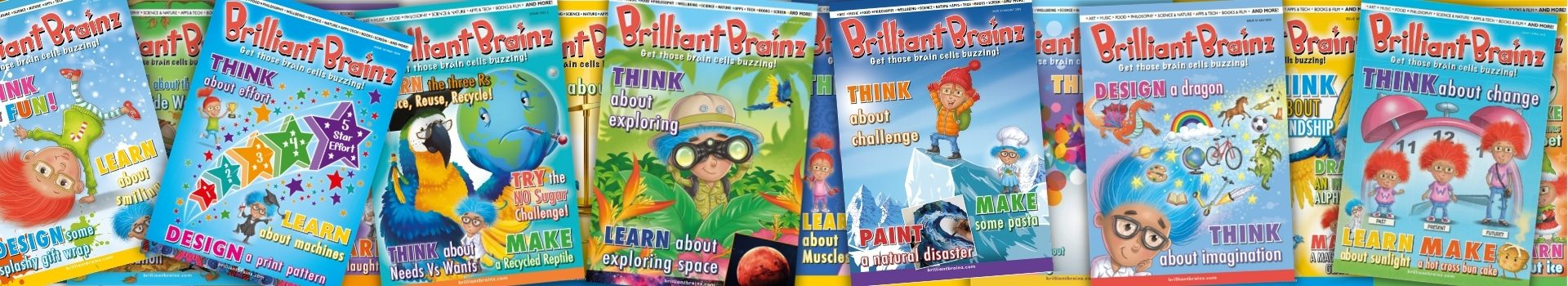 Brilliant Brainz Children's Magazine Subscription