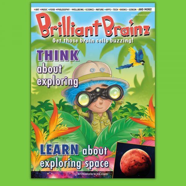 Brilliant Brainz Kid's Magazine Subscription Ages 6-12