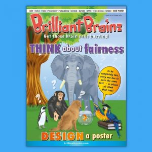 Brilliant Brainz Kid's Magazine Subscription Issue 25