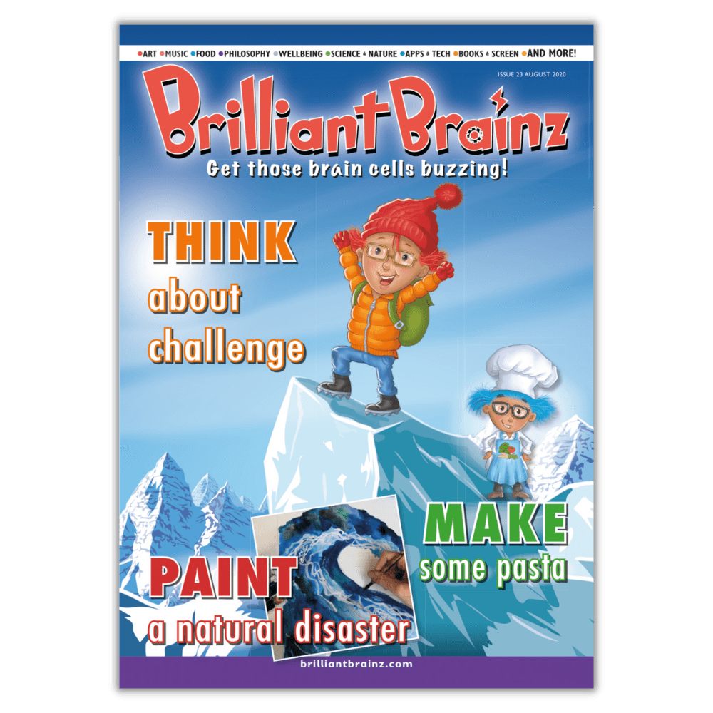 Brilliant Brainz Kid's Magazine Subscription Issue 26 Sample
