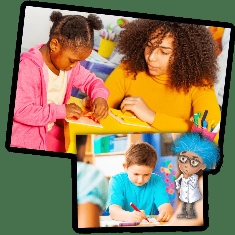 School lesson plan Brilliant Brainz