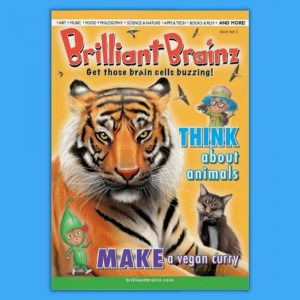 Think About Animals Children's Magazine Brilliant Brainz