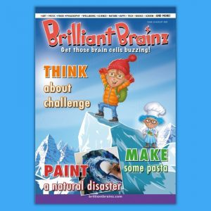 Think About Challenge Brilliant Brainz Children's Magazine Gift
