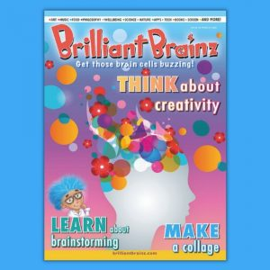 Think About Creativity Brilliant Brainz Children's Magazine Gift