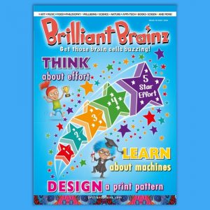 Think About Effort Brilliant Brainz Children's Magazine Gift Subscription