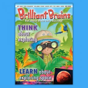Think About Exploring Brilliant Brainz Children's Magazine Gift