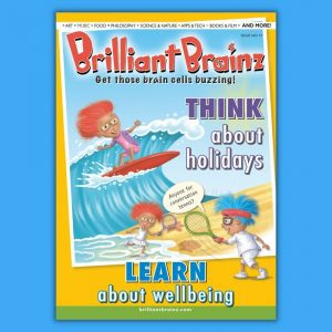 Think About Holidays Children's Magazine Brilliant Brainz