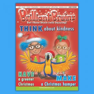 Think About Kindness Children's Magazine Brilliant Brainz