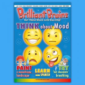 Think About Mood Children's Magazine Brilliant Brainz