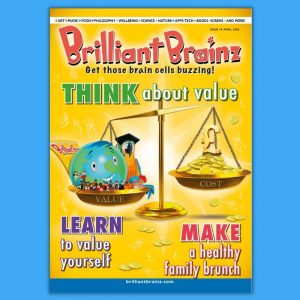 Think About Value Brilliant Brainz Children's Magazine Gift