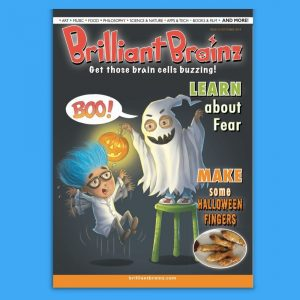 Think and Learn About Fear Children's Magazine Brilliant Brainz