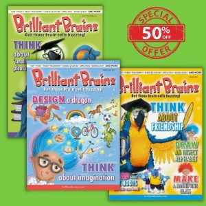 3 Pack Brilliant Brainz Children's Magazine Gift