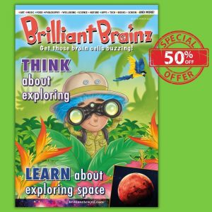 Subscription Brilliant Brainz Children's Magazine Gift