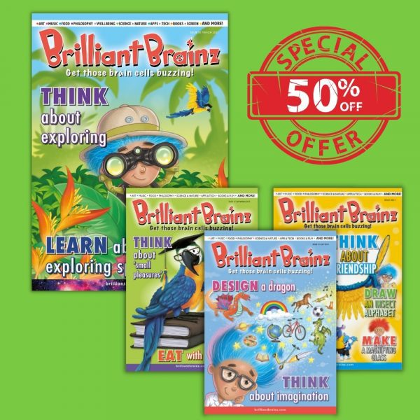 Brilliant Brainz Children's Magazine Gift Subscription