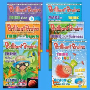 Kid's Magazine Brilliant Brainz Bumper Pack 25-30
