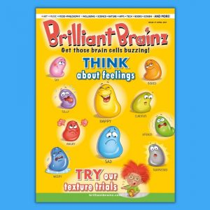 Think About Kid's Magazine Brilliant Brainz Issue 31
